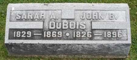 DUBOIS, SARAH A. - Warren County, Ohio | SARAH A. DUBOIS - Ohio Gravestone Photos