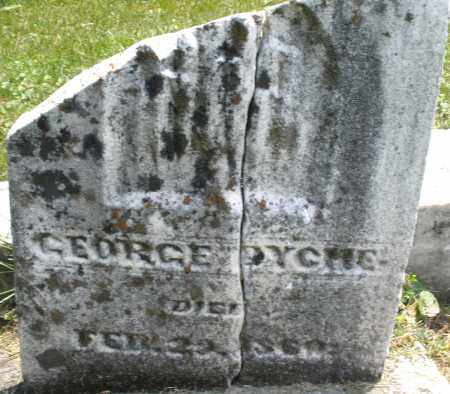 DYCHE, GEORGE - Warren County, Ohio | GEORGE DYCHE - Ohio Gravestone Photos