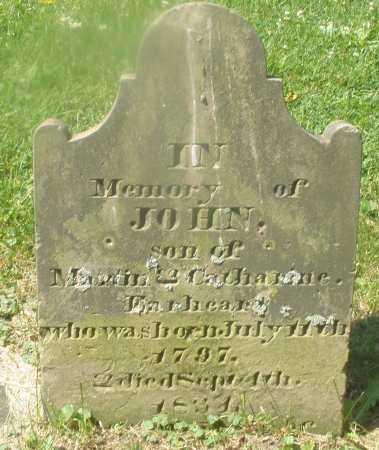 EARHEART, JOHN - Warren County, Ohio | JOHN EARHEART - Ohio Gravestone Photos