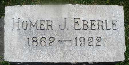EBERLE, HOMER J. - Warren County, Ohio   HOMER J. EBERLE - Ohio Gravestone Photos