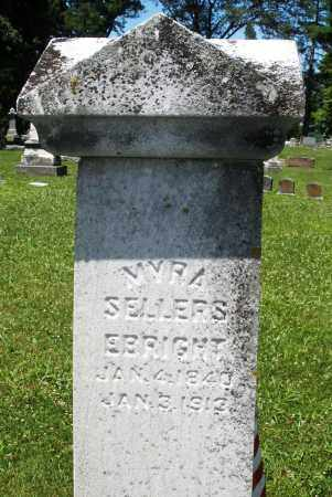 EBRIGHT, MYRA SELLERS - Warren County, Ohio | MYRA SELLERS EBRIGHT - Ohio Gravestone Photos