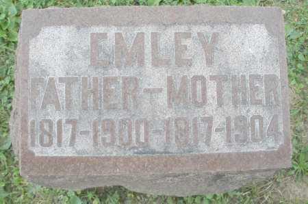 EMLEY, FATHER - Warren County, Ohio   FATHER EMLEY - Ohio Gravestone Photos