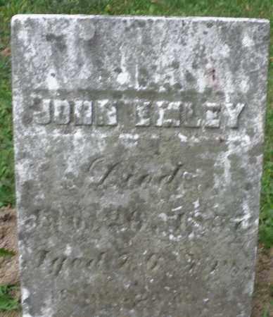 EMLEY, JOHN - Warren County, Ohio | JOHN EMLEY - Ohio Gravestone Photos