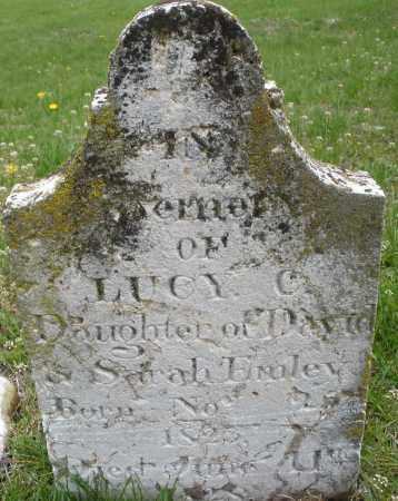 EMLEY, LUCY - Warren County, Ohio | LUCY EMLEY - Ohio Gravestone Photos
