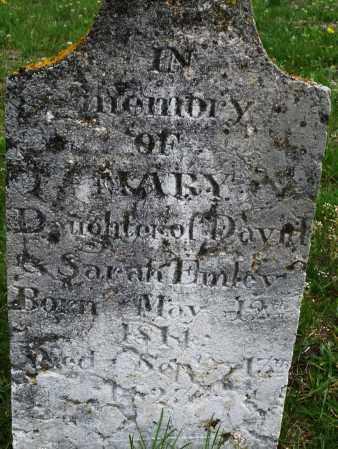 EMLEY, MARY - Warren County, Ohio   MARY EMLEY - Ohio Gravestone Photos