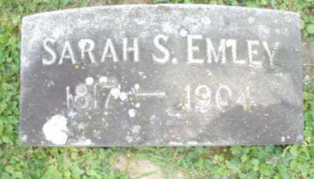 EMLEY, SARAH  S. - Warren County, Ohio | SARAH  S. EMLEY - Ohio Gravestone Photos