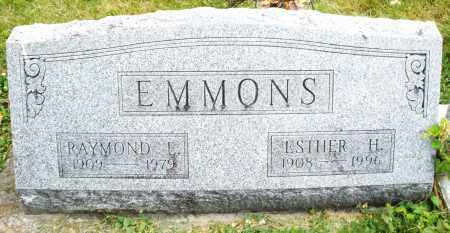 EMMONS, RAYMOND L. - Warren County, Ohio | RAYMOND L. EMMONS - Ohio Gravestone Photos
