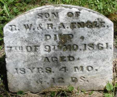 ENGLE, JAMES F. - Warren County, Ohio   JAMES F. ENGLE - Ohio Gravestone Photos