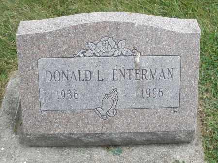 ENTERMAN, DONALD L. - Warren County, Ohio | DONALD L. ENTERMAN - Ohio Gravestone Photos