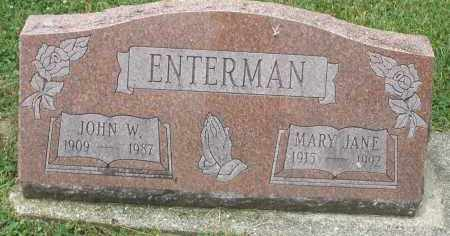 ENTERMAN, JOHN W. - Warren County, Ohio | JOHN W. ENTERMAN - Ohio Gravestone Photos