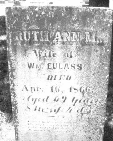 EULASS, RUTH ANN M. - Warren County, Ohio   RUTH ANN M. EULASS - Ohio Gravestone Photos