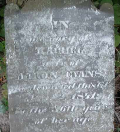 EVANS, RACHEL - Warren County, Ohio | RACHEL EVANS - Ohio Gravestone Photos