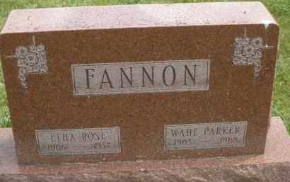 FANNON, WADE PARKER - Warren County, Ohio   WADE PARKER FANNON - Ohio Gravestone Photos