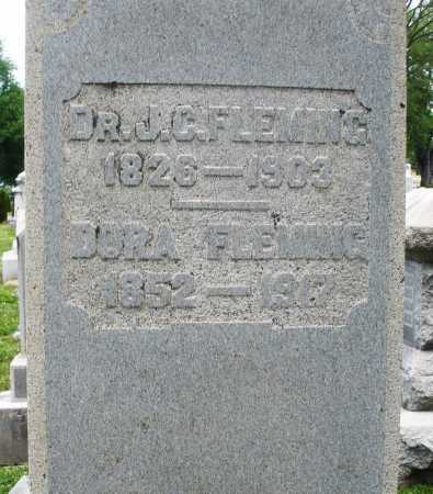 FLEMING, J.C. DR. - Warren County, Ohio | J.C. DR. FLEMING - Ohio Gravestone Photos