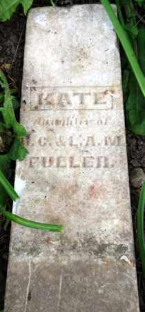 FULLER, KATE - Warren County, Ohio   KATE FULLER - Ohio Gravestone Photos
