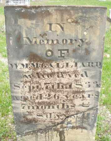 GALLIARD, WILLIAM M. - Warren County, Ohio | WILLIAM M. GALLIARD - Ohio Gravestone Photos