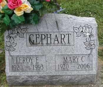 GEPHART, MARY C. - Warren County, Ohio | MARY C. GEPHART - Ohio Gravestone Photos
