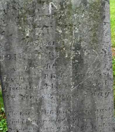 EULASS GITHENS, BETSEY - Warren County, Ohio   BETSEY EULASS GITHENS - Ohio Gravestone Photos