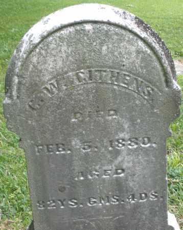 GITHENS, G. W. - Warren County, Ohio | G. W. GITHENS - Ohio Gravestone Photos