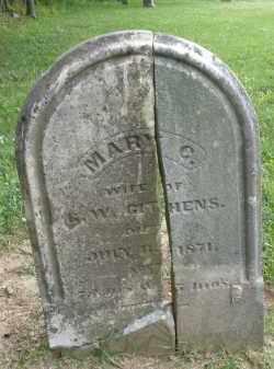 GITHENS, MARY - Warren County, Ohio | MARY GITHENS - Ohio Gravestone Photos