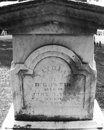 GUSTIN, LYDIA - Warren County, Ohio   LYDIA GUSTIN - Ohio Gravestone Photos