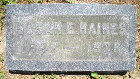 HAINES, SUSAN E. - Warren County, Ohio | SUSAN E. HAINES - Ohio Gravestone Photos