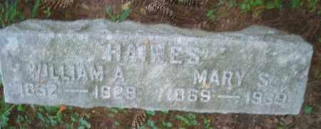HAINES, WILLIAM A. - Warren County, Ohio | WILLIAM A. HAINES - Ohio Gravestone Photos