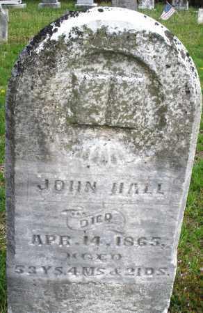 HALL, JOHN - Warren County, Ohio | JOHN HALL - Ohio Gravestone Photos