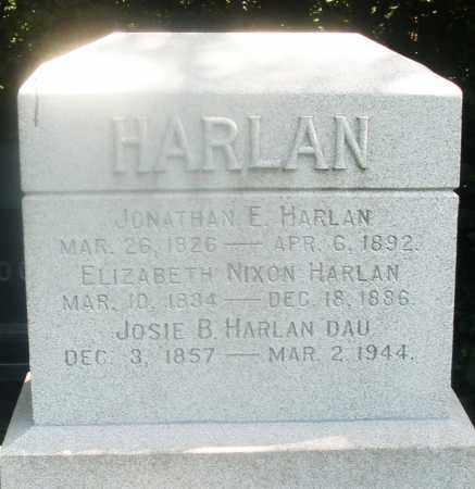 HARLAN, JONATHAN E. - Warren County, Ohio | JONATHAN E. HARLAN - Ohio Gravestone Photos