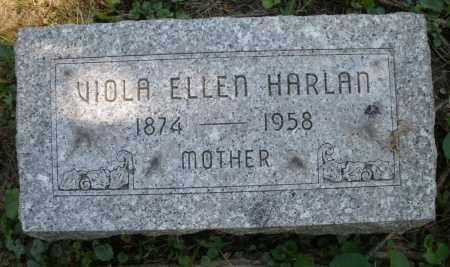 HARLAN, VIOLA ELLEN - Warren County, Ohio | VIOLA ELLEN HARLAN - Ohio Gravestone Photos