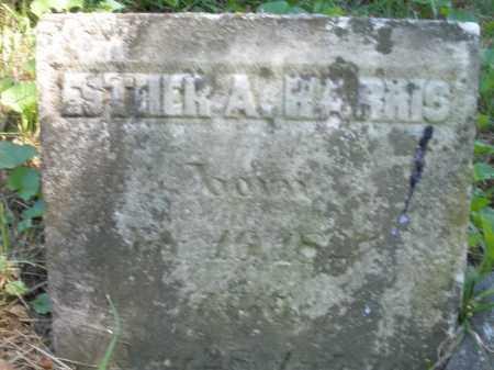 HARRIS, ESTHER A. - Warren County, Ohio | ESTHER A. HARRIS - Ohio Gravestone Photos