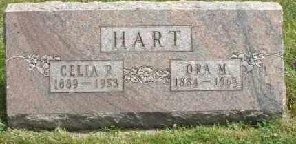 HART, ORA M. - Warren County, Ohio | ORA M. HART - Ohio Gravestone Photos