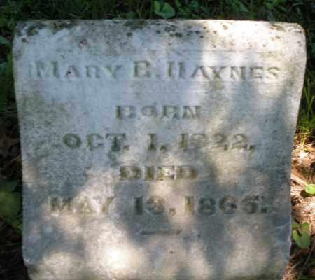 HAYNES, MARY B. - Warren County, Ohio   MARY B. HAYNES - Ohio Gravestone Photos