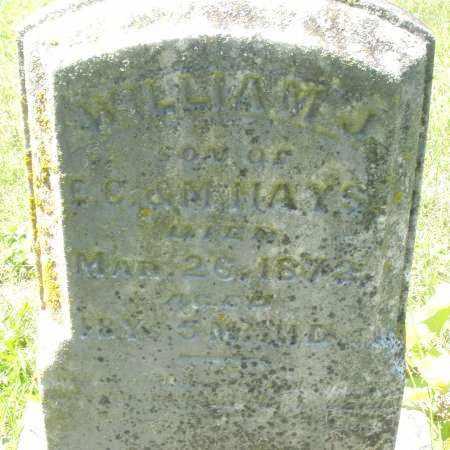 HAYS, WILLIAM J. - Warren County, Ohio | WILLIAM J. HAYS - Ohio Gravestone Photos