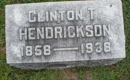 HENDRICKSON, CLINTON T. - Warren County, Ohio | CLINTON T. HENDRICKSON - Ohio Gravestone Photos
