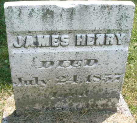 HENRY, JAMES - Warren County, Ohio | JAMES HENRY - Ohio Gravestone Photos
