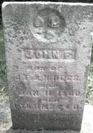 HESS, JAMES F. - Warren County, Ohio | JAMES F. HESS - Ohio Gravestone Photos