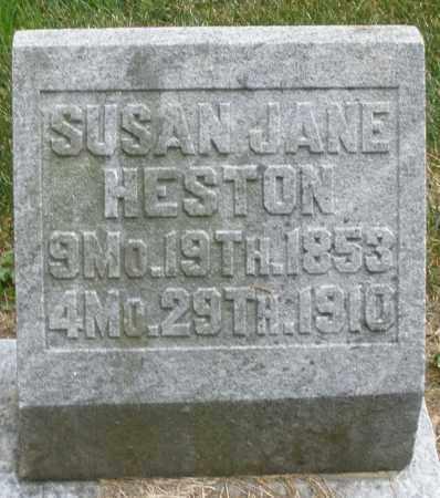 HESTON, SUSAN JANE - Warren County, Ohio | SUSAN JANE HESTON - Ohio Gravestone Photos