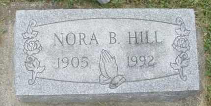 HILL, NORA B. - Warren County, Ohio   NORA B. HILL - Ohio Gravestone Photos