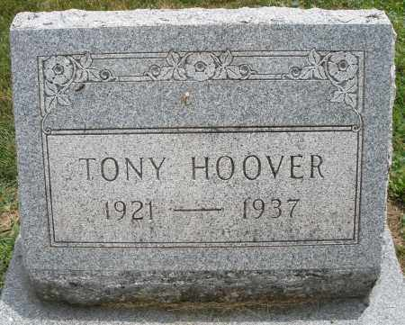 HOOVER, TONY - Warren County, Ohio | TONY HOOVER - Ohio Gravestone Photos