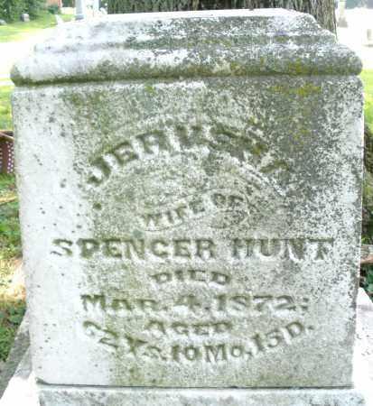 HUNT, JERMSHA - Warren County, Ohio | JERMSHA HUNT - Ohio Gravestone Photos