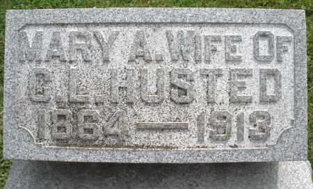 HUSTED, MARY A. - Warren County, Ohio   MARY A. HUSTED - Ohio Gravestone Photos