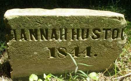 HUSTON, HANNAH - Warren County, Ohio | HANNAH HUSTON - Ohio Gravestone Photos