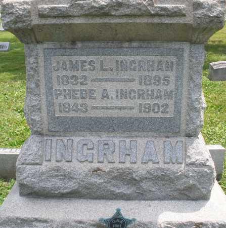 INGRHAM, PHEBE A. - Warren County, Ohio | PHEBE A. INGRHAM - Ohio Gravestone Photos