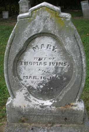 IVINS, MARY - Warren County, Ohio | MARY IVINS - Ohio Gravestone Photos