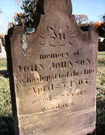 JOHNSON, JOHN - Warren County, Ohio | JOHN JOHNSON - Ohio Gravestone Photos