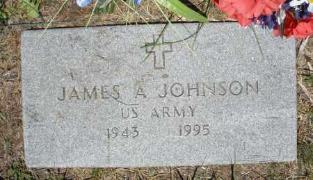 JOHNSON, JAMES A. - Warren County, Ohio | JAMES A. JOHNSON - Ohio Gravestone Photos