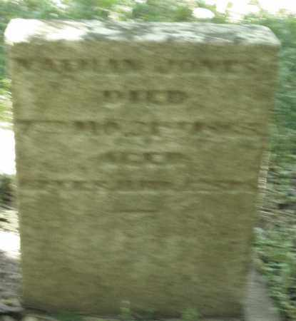 JONES, NATHAN - Warren County, Ohio   NATHAN JONES - Ohio Gravestone Photos