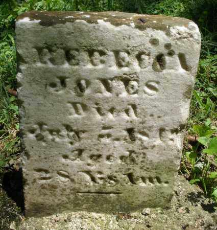JONES, REBECCA - Warren County, Ohio | REBECCA JONES - Ohio Gravestone Photos