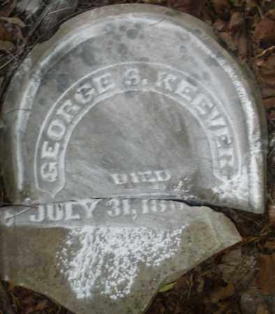 KEEVER, GEORGE S. - Warren County, Ohio | GEORGE S. KEEVER - Ohio Gravestone Photos
